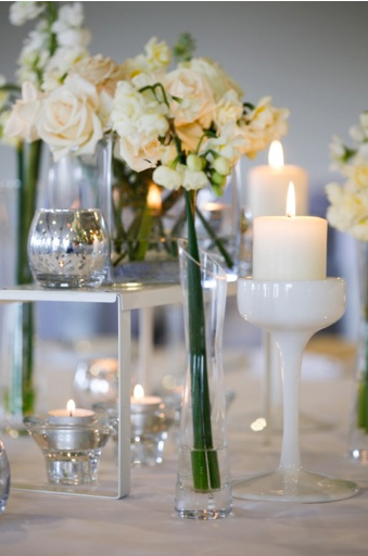 One Day Your Way - white reception styling ideas