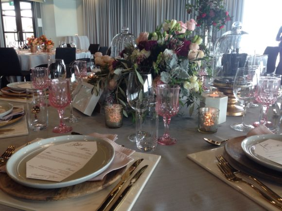 Marble, wood and donuts - styled shoot at the Sandringham Yacht Club