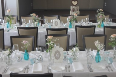 One Day Your Way - The wedding of Emma and Michael - Sails on the Bay - Kamsburugh Gardens tiffany blue wedding styling and planning 2