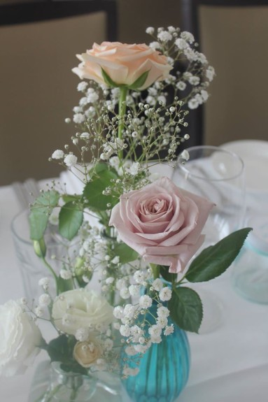 One Day Your Way - The wedding of Emma and Michael - Sails on the Bay - Kamsburugh Gardens tiffany blue wedding styling and planning