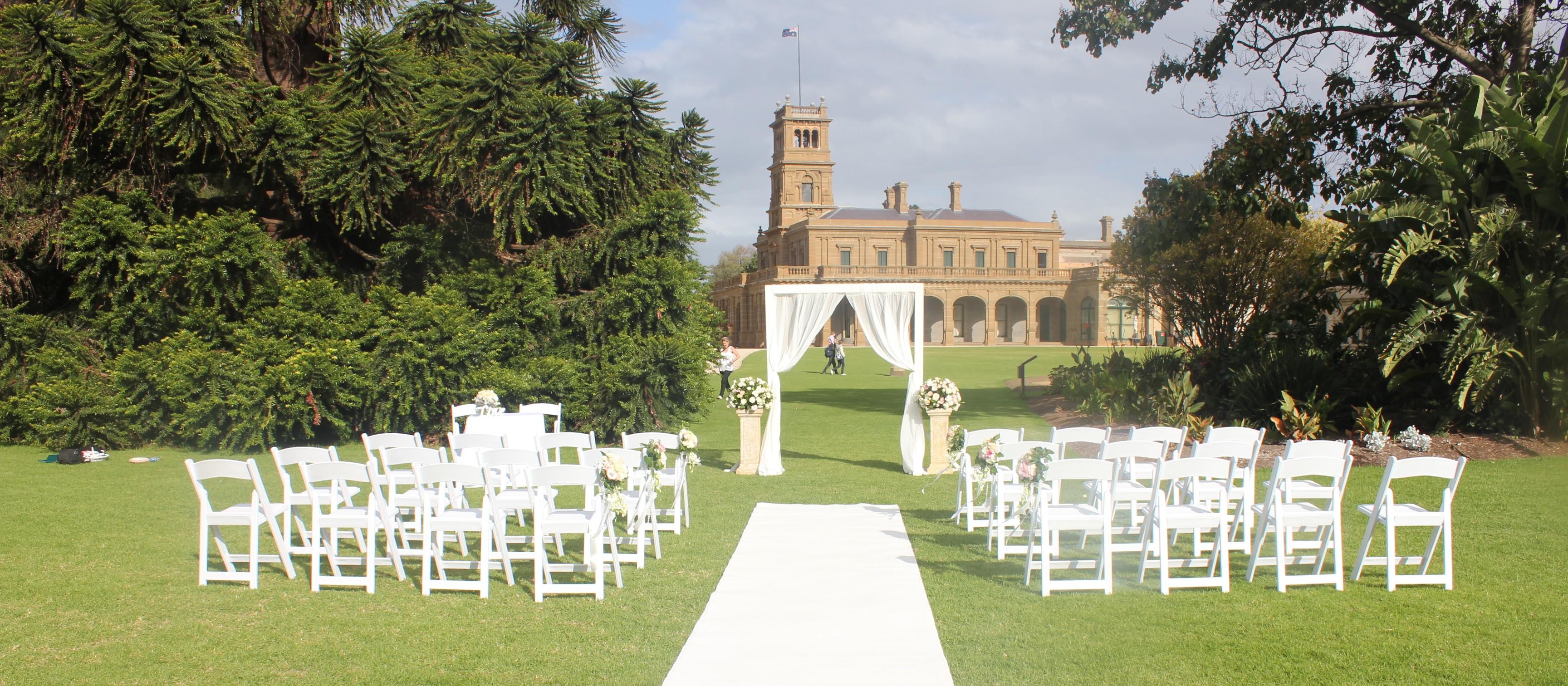 Romantic Summer Wedding At Werribee Park Designer Planner Stylist One Day Your Way