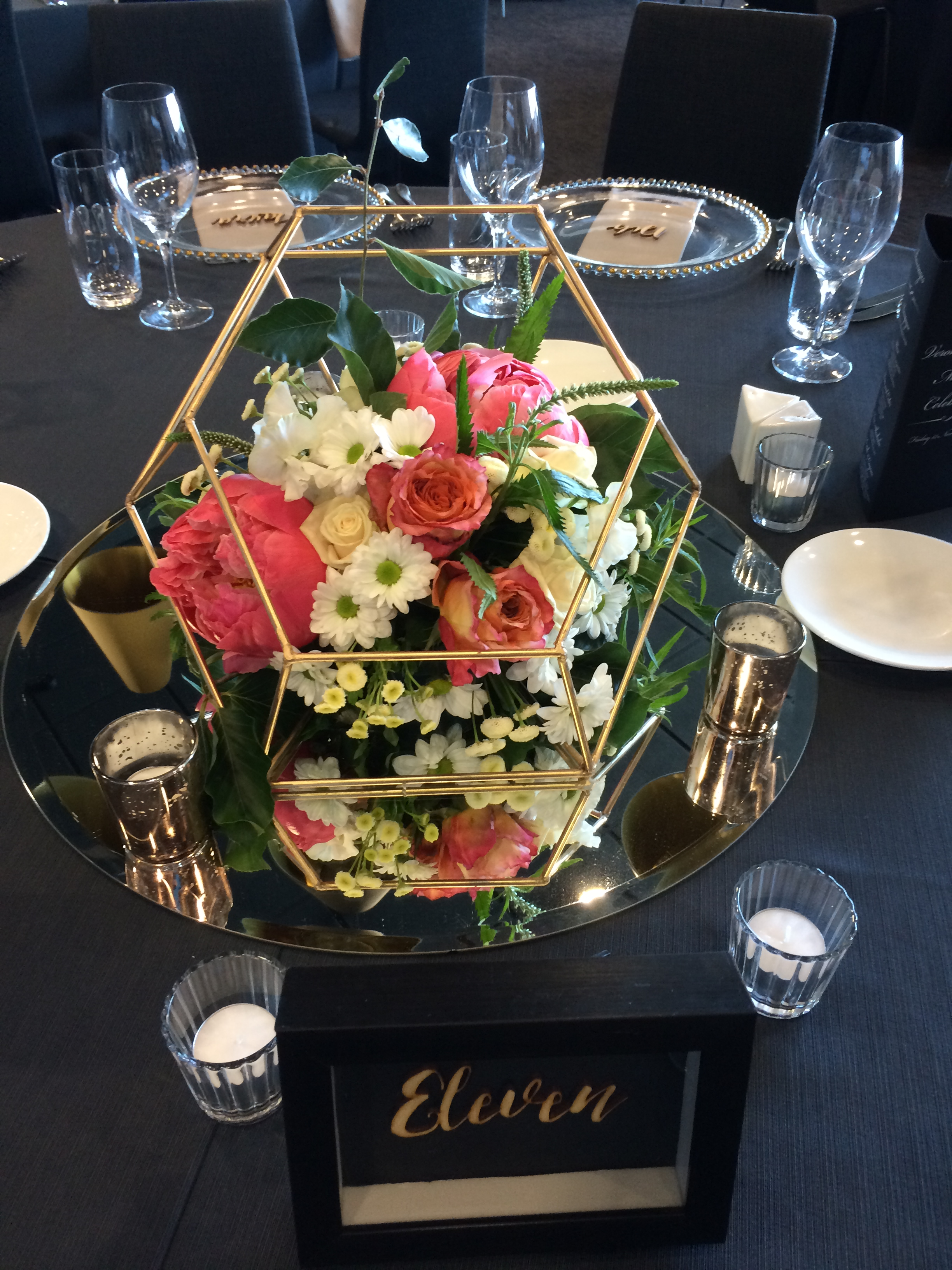 Geometric Table Centerpiece Designer Planner Stylist One Day Your Way
