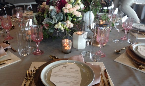 Styled shoot - wood, marble and donuts at the Sandringham Yacht Club
