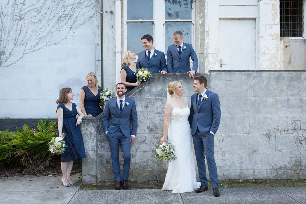 Navy and gold styling at the Abbotsford Convent 38