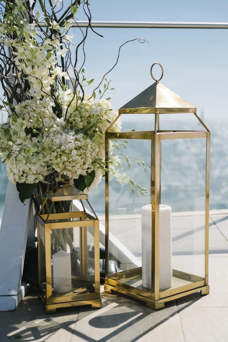 Large Gold Lanterns Designer Planner Stylist One Day