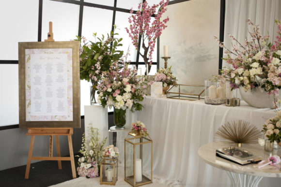Modern wedding styling by One Day Your Way at Luminare (21)