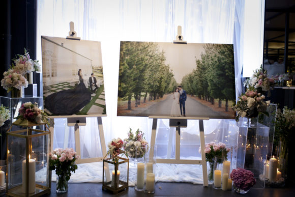 Modern wedding styling by One Day Your Way at Luminare (29)