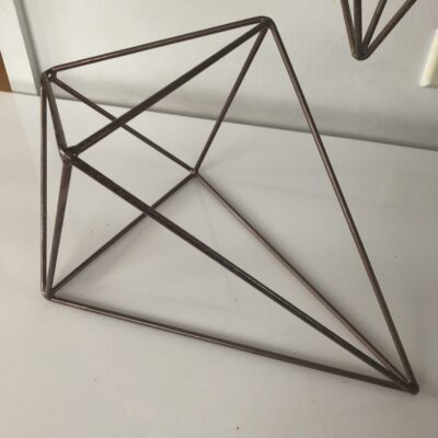 diamond geo table centrepiece hire range by One Day Your Way