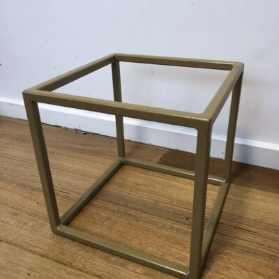 30cm cube centrepiece hire range by One Day Your Way